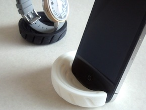 smart stand_annual ring in White Natural Versatile Plastic
