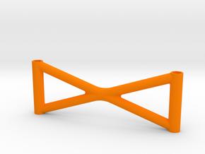 Super SuDu rear brace in Orange Processed Versatile Plastic