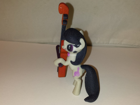 Octavia Melody with Cello in Full Color Sandstone