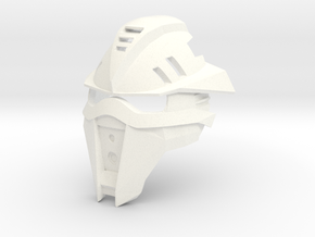Kanohi Himata - Mask of Weight Increase (Bionicle) in White Strong & Flexible Polished