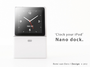 Nano dock - Dock your iPod Nano in White Strong & Flexible Polished