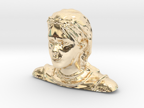Jeanne d'Arc in 14K Yellow Gold
