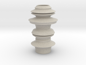 Earthen style Vase in Natural Sandstone