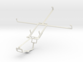 Controller mount for Xbox One & BlackBerry 4G Play in White Natural Versatile Plastic