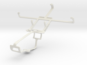 Controller mount for Xbox One & BlackBerry Z10 in White Natural Versatile Plastic