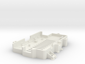 More-secure-raspi-case-bottom in White Natural Versatile Plastic