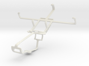 Controller mount for Xbox One & BLU Dash 4.5 in White Natural Versatile Plastic