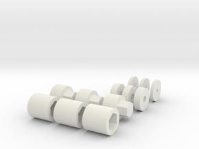 Jan27 2015 00 04 Shaft Cap Rpm in White Natural Versatile Plastic