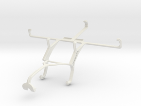 Controller mount for Xbox 360 & BLU Studio 5.3 S in White Natural Versatile Plastic