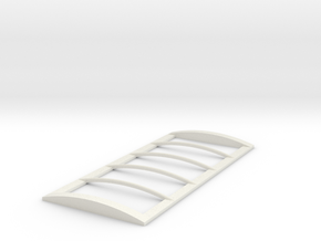 1/64 18' Tarp frame in White Natural Versatile Plastic