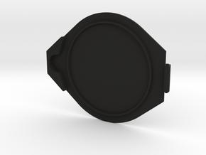 58mm Flip Lens Cap-cap in Black Natural Versatile Plastic