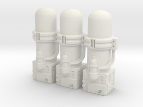 Resizing Chamber Section in White Natural Versatile Plastic