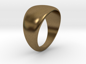 Simple ring in Natural Bronze