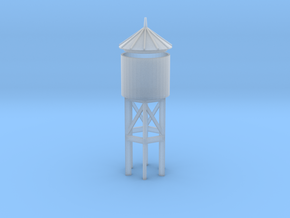 Miniature Railway Water Tower (HO Scale) in Smooth Fine Detail Plastic