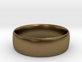 Plain Ring 20 mm x 20mm  in Natural Bronze