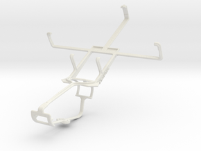 Controller mount for Xbox One & HTC Advantage X750 in White Natural Versatile Plastic