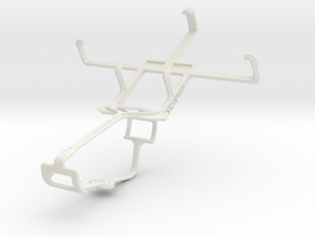 Controller mount for Xbox One & HTC S630 in White Natural Versatile Plastic