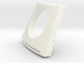 Astromech Radar Eye A in White Strong & Flexible Polished