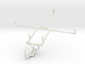 Controller mount for PS3 & Icemobile G5 in White Natural Versatile Plastic