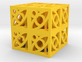Dice154 in Yellow Processed Versatile Plastic