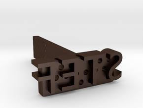 NAME-branding-STEF in Matte Bronze Steel