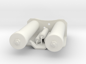 Power Cylinders for E11 blaster in White Natural Versatile Plastic