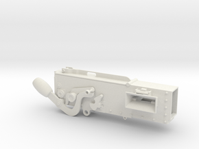 1/4th Vickers Machine Gun (Part 2 of 2) in White Natural Versatile Plastic