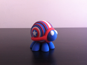 Patriot-Buggy 3DPrint in Full Color Sandstone