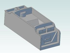 Group Standard Tender Body Shell in Smooth Fine Detail Plastic
