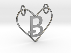 Valentines (NEW B) in Fine Detail Polished Silver