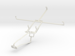Controller mount for Xbox One Chat & Lenovo IdeaTa in White Natural Versatile Plastic