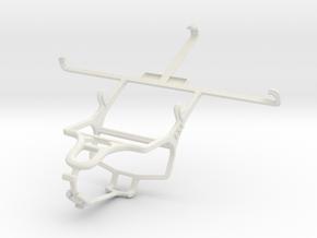 Controller mount for PS4 & Lenovo K900 in White Natural Versatile Plastic