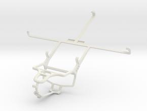 Controller mount for PS4 & Lenovo S5000 in White Natural Versatile Plastic