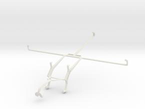 Controller mount for Xbox 360 & Lenovo Miix 2 10 in White Natural Versatile Plastic