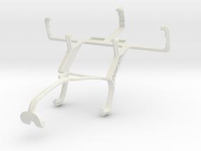 Controller mount for Xbox 360 & LG Enact VS890 in White Natural Versatile Plastic