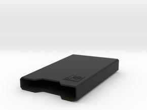 Calculator Holster HP 11C in Black Natural Versatile Plastic
