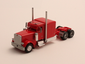 "1:160 N Scale Peterbilt 379 with 63"" Sleeper in Frosted Ultra Detail"