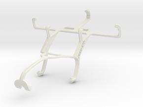Controller mount for Xbox 360 & LG Optimus F3 in White Natural Versatile Plastic