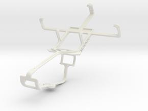 Controller mount for Xbox One & LG Optimus L1 II E in White Natural Versatile Plastic