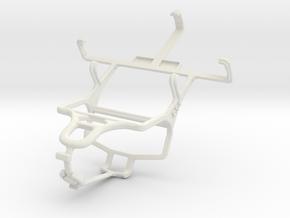 Controller mount for PS4 & LG Optimus L3 II E430 in White Natural Versatile Plastic