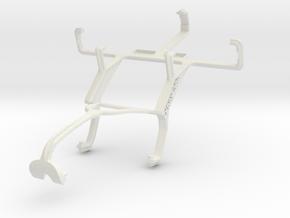 Controller mount for Xbox 360 & LG Optimus L3 E405 in White Natural Versatile Plastic