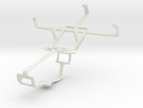 Controller mount for Xbox One & LG Optimus Net Dua in White Natural Versatile Plastic