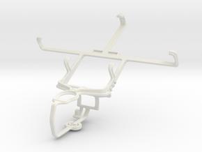 Controller mount for PS3 & LG Spectrum VS920 in White Natural Versatile Plastic