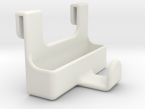 Headphone Rack Version 1 in White Strong & Flexible