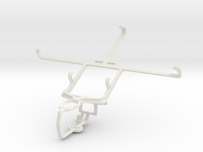 Controller mount for PS3 & Maxwest Orbit 6200 in White Natural Versatile Plastic