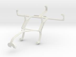 Controller mount for Xbox 360 & Meizu MX in White Natural Versatile Plastic