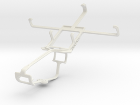 Controller mount for Xbox One & Micromax A90s in White Natural Versatile Plastic