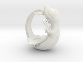 Gecko Size13 in White Natural Versatile Plastic