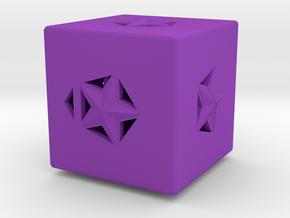 Dice157 in Purple Processed Versatile Plastic