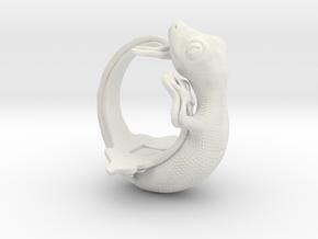 Gecko Size10 in White Natural Versatile Plastic